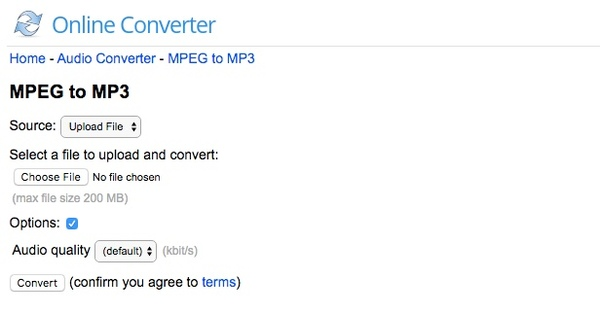 online converter mpeg to mp3