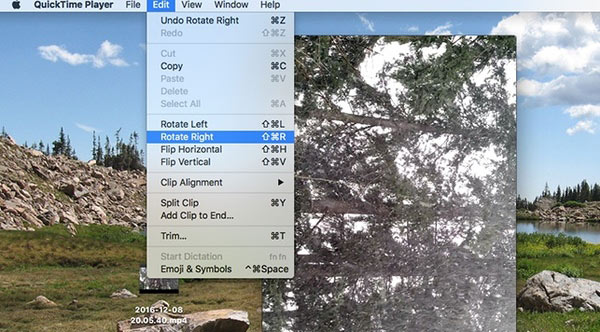 rotate video on mac