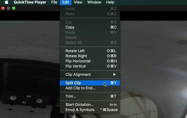 Audio in Quicktime teilen