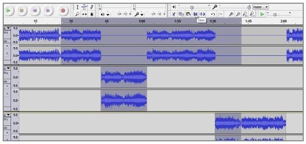 Trimmen Sie MP3-Audio in Kühnheit