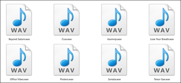 wav formatı