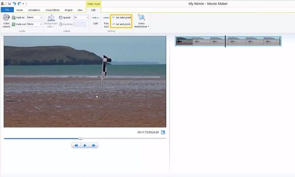 Video mit Filmemacher zuschneiden