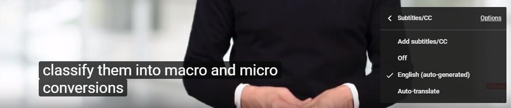 將YouTube視頻翻譯成英文字幕